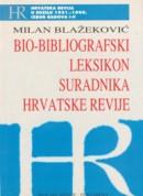 Bio - bibliografski leksikon suradnika hrvatske revije - naslovna