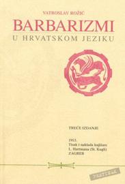 Barbarizmi u hrvatskom jeziku - naslovna