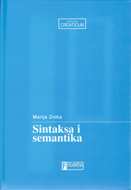 Sintaksa i semantika - naslovna